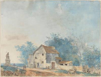 Landscape Print by Louis Gabriel Moreau