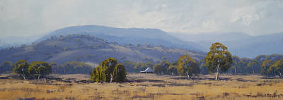 Landscape Paintings Print by Graham Gercken