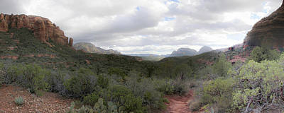 Nature Photograph - Landscape Pano 1 by Ingrid Smith-Johnsen