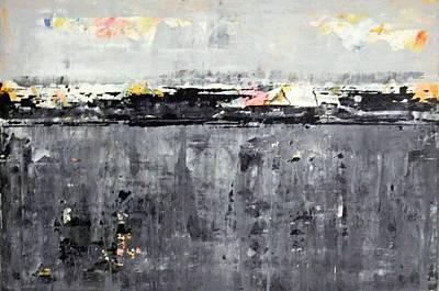 Painting - Landscape Scene. by Paul Pulszartti