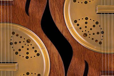 Music Digital Art - Lap Guitars        by Mike McGlothlen