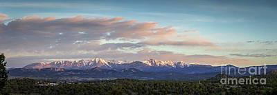 Laplata Mountains, Colorado Print by Joan McCool