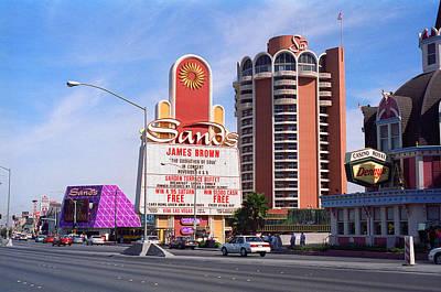 Glitter Gulch Photograph - Las Vegas 1994 #1 by Frank Romeo