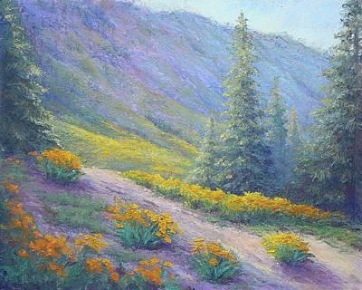 Lassen Painting - Lassen Morning by Kathleen Woolsey