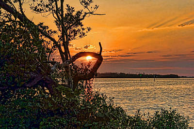 Sunset Photograph - Lasso The Sun by HH Photography of Florida