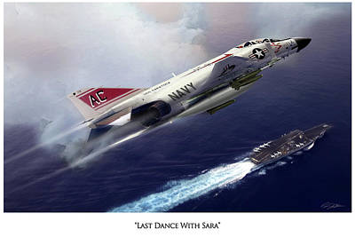 Last Dance With Sara V2 Print by Peter Chilelli
