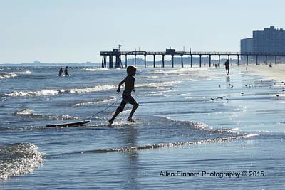 Last Days Of Summer Original by Allan Einhorn