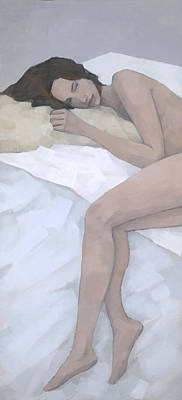 Nude Painting - Last Dream by Steve Mitchell