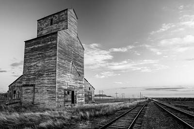Granary Photograph - Last Light At Laredo by Todd Klassy