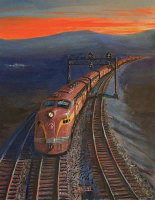 Last Light Original by Christopher Jenkins