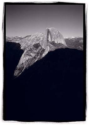 Last Light On Half Dome Original by Steve Gadomski