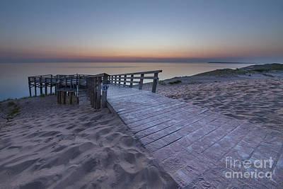 Last Light Over The Dunes Print by Twenty Two North Photography