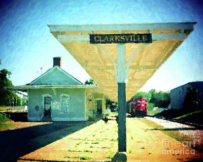 Last Train To Clarksville Print by Desiree Paquette
