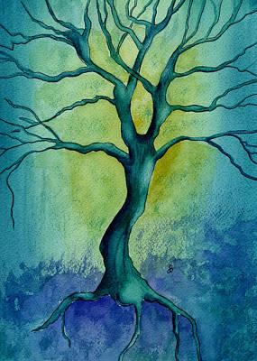 Last Tree Standing Original by Brenda Owen