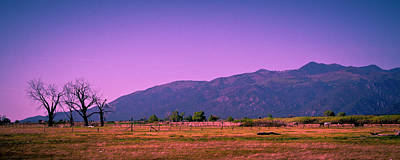 Taos New Mexico Photograph - Late Afternoon In Taos by David Patterson