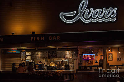 Snack Bar Photograph - Late Night Snack by Maira Grove