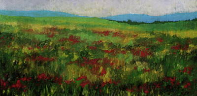 Contemplative Painting - Late Summer Tapestry by Douglas AmEnde
