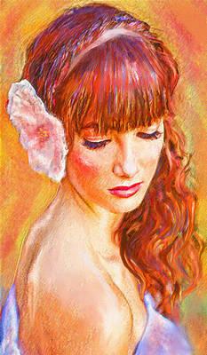 Latina Beauty Print by Jane Schnetlage