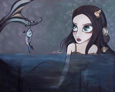 Laura Print by Dania Piotti
