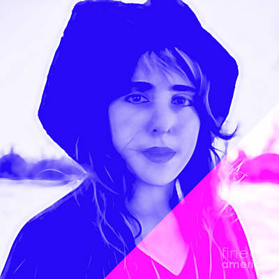 Laura Nyro Collection Print by Marvin Blaine