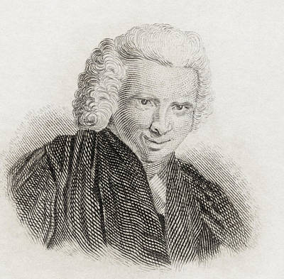 Laurence Sterne, 1713 To 1768. English Print by Vintage Design Pics