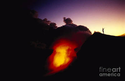 Lava At Dawn Print by Ron Dahlquist - Printscapes