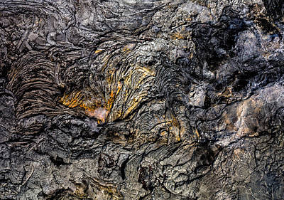 Print featuring the photograph Lava by M G Whittingham