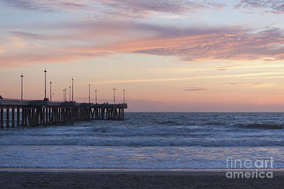 Venice Beach Photograph - Lavander Waters by Ana V Ramirez