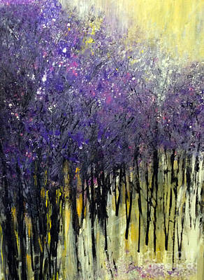Painting - Lavender Dreams by Priti Lathia