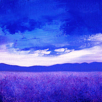 Painting - Lavender Field by K McCoy