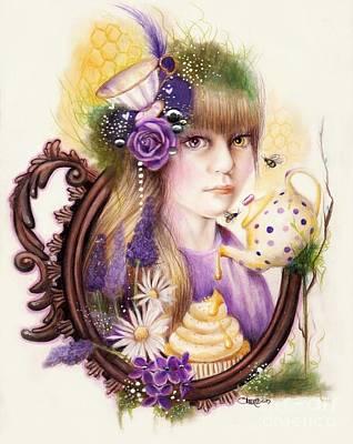 Lavender Honey Print by Sheena Pike