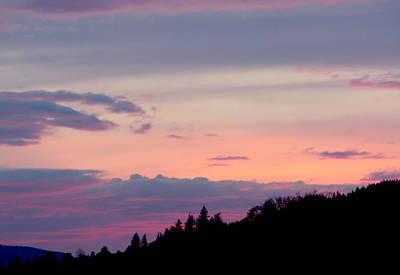 Lavender Skies Print by Nick Gustafson