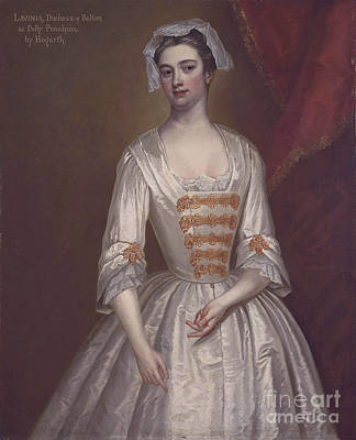Lavinia Fenton Duchess Of Bolton Print by Celestial Images