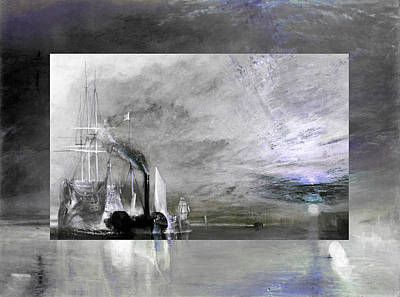 Layered 11 Turner Print by David Bridburg