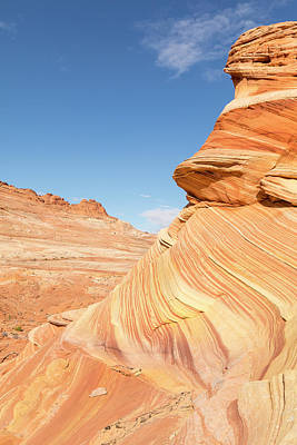 Layers Of Sandstone Print by Tim Grams