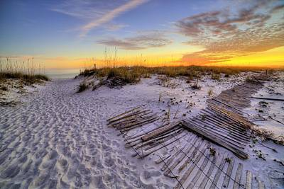 Laying Out On Pensacola Beach Print by JC Findley