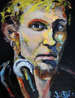 Hunter S. Thompson Painting - Layne Staley by Jon Baldwin  Art