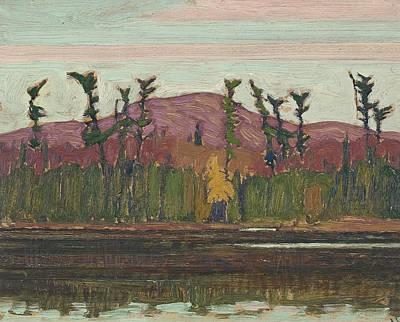 Painting - Layton's Lake Algoma by James Edward Hervey MacDonald