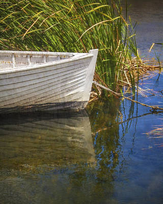 Rowboat Photograph - Lazy Days by Amy Weiss