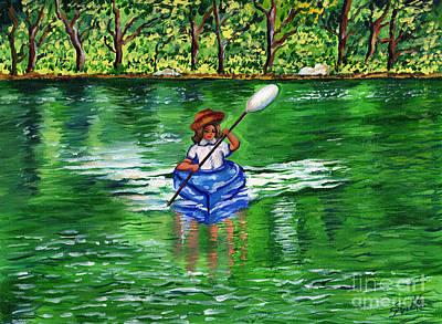 Painting - Lazy Days Of Summer by Sweta Prasad