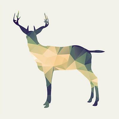 Deer Digital Art - Le Cerf by Taylan Soyturk
