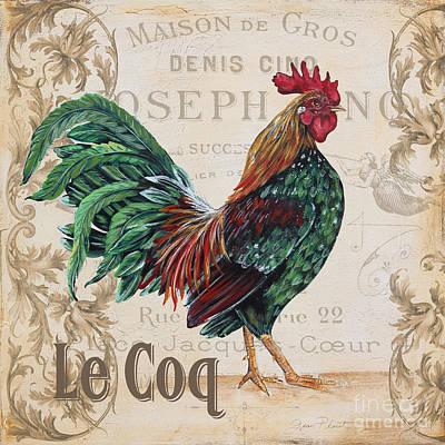Le Coq-jp3087 Print by Jean Plout
