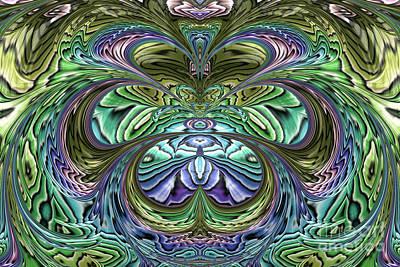 Artistic Digital Art - Le Jardin Secret by John Edwards