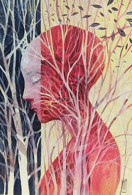 Tree Roots Painting - Le Mie Radici by Alessandro Andreuccetti