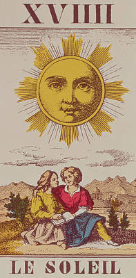 Le Soleil Print by French School