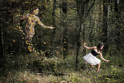 Elf Photograph - Le Sylphe by Christophemaclaren