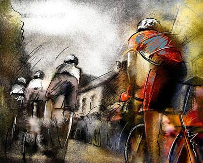 Art Miki Digital Art - Le Tour De France 06 by Miki De Goodaboom