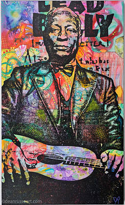 Painting - Lead Belly by Dean Russo