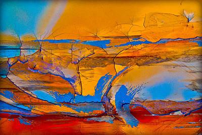 Leap Into The Sky Print by David Clanton