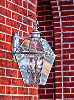 Leave The Light On Effie Print by Brenda Bryant